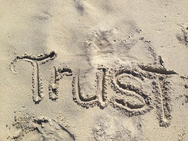 Vertrouwen is een keuze